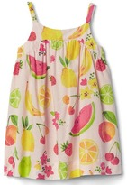 Gap Fruity spaghetti dress