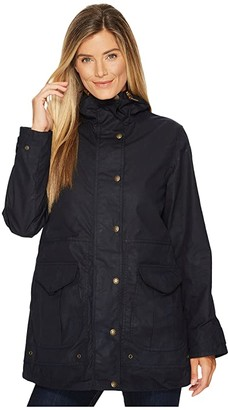 Filson Pinedale All Season Rain Jacket (Navy) Women's Coat