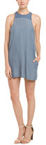 Autograph Addison Chambray Sleeveless Shift Dress