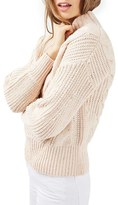 Topshop Women's Cable Knit Sweater