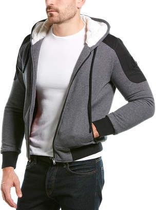 Moose Knuckles Hooded Zip Up Jacket