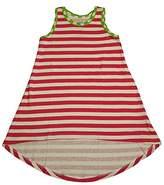 Sara's Prints Little Girls Sleeveless Hi-Lo Nightgown