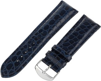 Hadley Roma Hadley-Roma Men's 20mm Leather Watch Strap