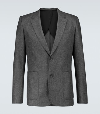 AMI Paris Single-breasted wool blazer