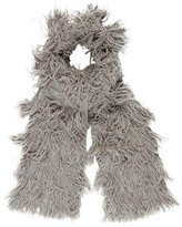 Zero Maria Cornejo Knit Fringe Scarf