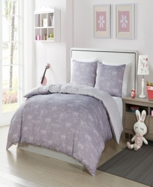 Duck River Textile Malar Butterfly 2-Pc. Twin Comforter Set Bedding