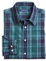 Brooks Brothers Boys' Non Iron Plaid Shirt - Little Kid, Big Kid