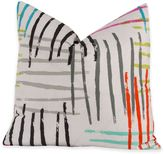Crayola Stroke of Genius 16-Inch Square Throw Pillow