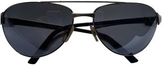 Cartier Santos Anthracite Metal Sunglasses