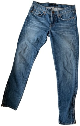 J Brand Blue Cotton Jeans for Women