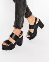 Asos TOTAL Chunky Platform Sandals