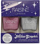 Nails Inc Holler-Graphic Nail Polish Duo Kit