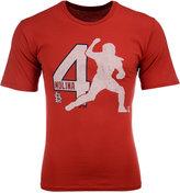 Majestic Men's Yadier Molina St. Louis Cardinals Lux T-Shirt