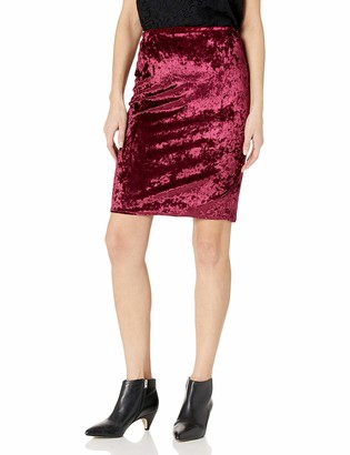 Star Vixen Women's Knee Length Classic Stretch Pencil Skirt