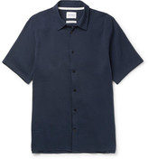 Norse Projects Theo Cotton and Hemp-Blend Seersucker Shirt