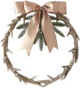 Martha Stewart Living Gilded Antler Wreath