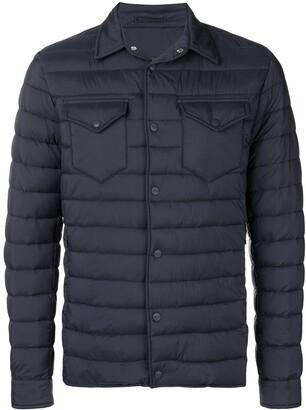 Herno front pocket padded jacket