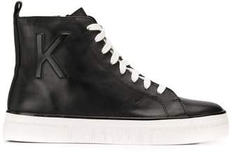 Calvin Klein classic hi-top sneakers