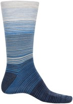 Cabot and Sons Cabot & Sons Hombre Stripes Socks - Merino Wool, Crew (For Men)