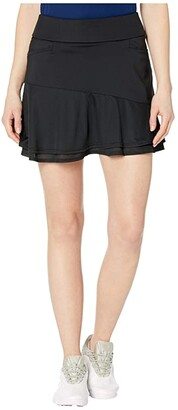 adidas Ultimate365 Knit Frill Skort (Power Berry) Women's Skort