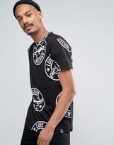 Love Moschino Jaguar All Over Print T-shirt