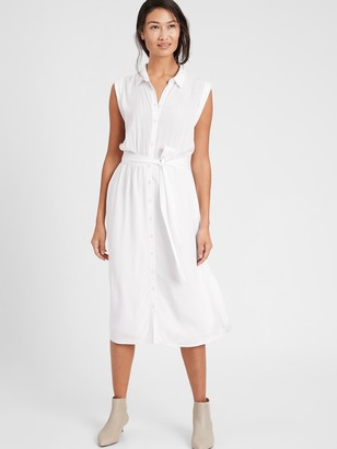 Banana Republic Petite LENZING ECOVERO Shirtdress