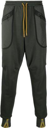 adidas Panelled Zipped-Pocket Track Pants