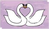 Minted Swan XO Self-Launch Mini Cards