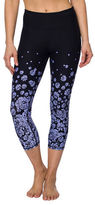 Betsey Johnson Floral-Printed Cropped Leggings