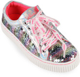 Billieblush Girl's Flip Sequin Lace-Up Sneakers, Toddler/Kids