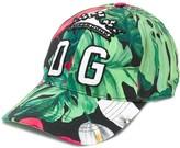 Dolce & Gabbana palm print baseball cap