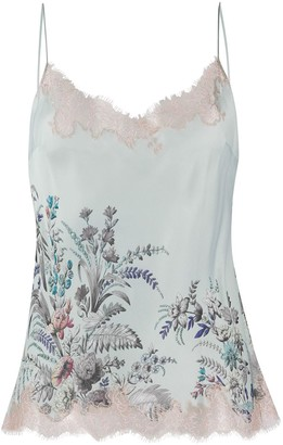 Carine Gilson Floral Print Camisole