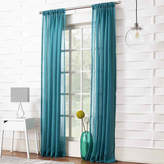 JCPenney Lichtenberg Lola Solid Rod-Pocket Sheer Curtain Panel