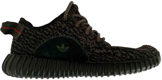 Yeezy Boost 350 V1 Black Cloth Trainers