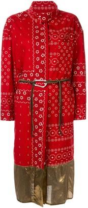 Kolor Wrap-Style Printed Dress