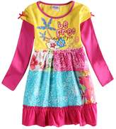 Novatx Long Sleeve Winter Princess Baby Girl Dress H6608
