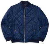 Ralph Lauren Boys' Diamond Quilted Baseball Jacket - Sizes S-XL