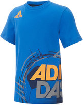 adidas Graphic-Print Cotton T-Shirt, Toddler & Little Boys (2T-7)
