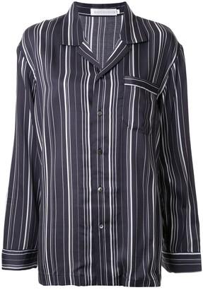 Goodious Striped Long-Sleeve Pajama Set