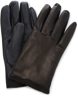 Labonia Cashmere-Lined Leather Gloves