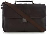 Jeff Banks Brown Clasp Briefcase