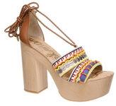 Sam Edelman Mel Beaded Platform Sandals