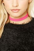 Forever 21 Strappy Faux Suede Choker