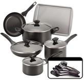 "Farberware 11"" x 15"" Roaster with Flat Rack Roasting Pan"
