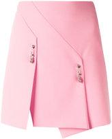 Versus safety pin detail skirt