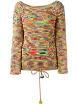 Chloé space dyed knit jumper