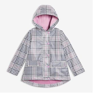 Joe Fresh Toddler Girls' Print Raincoat, White (Size 3)