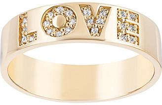 Ariana Rabbani 14K 0.12 Ct. Tw. Diamond Love Ring