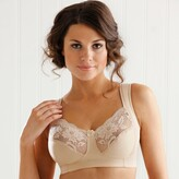 Miss Mary Of Sweden Non-Underwired Wide Padded Straps Lace Bra