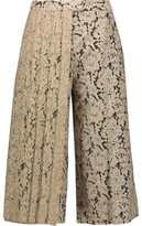 MSGM Layered Corded Lace Culottes